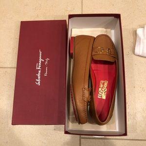 ferragamo moccasins new in box